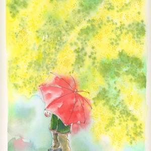 ミモザの雨