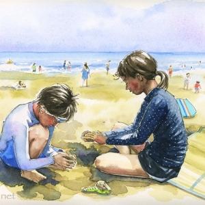 海岸の思い出