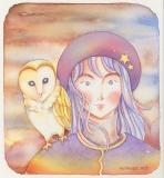 フクロウガール The owl girl