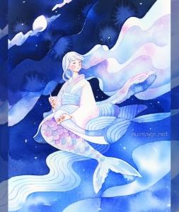 「赤いろうそくと人魚」Red Candles and Mermaid