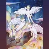 「飴チョコの天使」Angels of caramel.