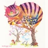 「不思議の国のアリス」Alice in Wonderland