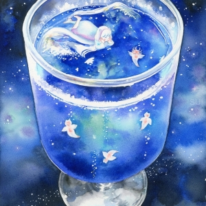 クリオネソーダ水