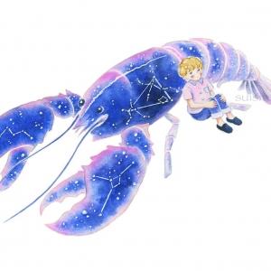青いザリガニ座