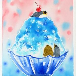 ペンギンの氷山  The Penguin on icVeberg