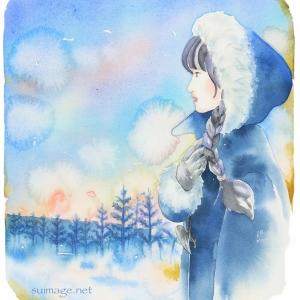 冬の朝 The winter morning