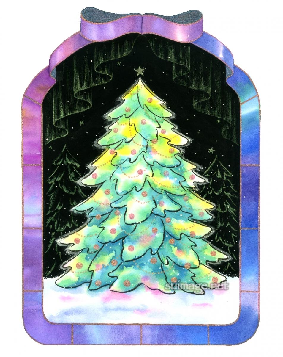 オーロラのクリスマス