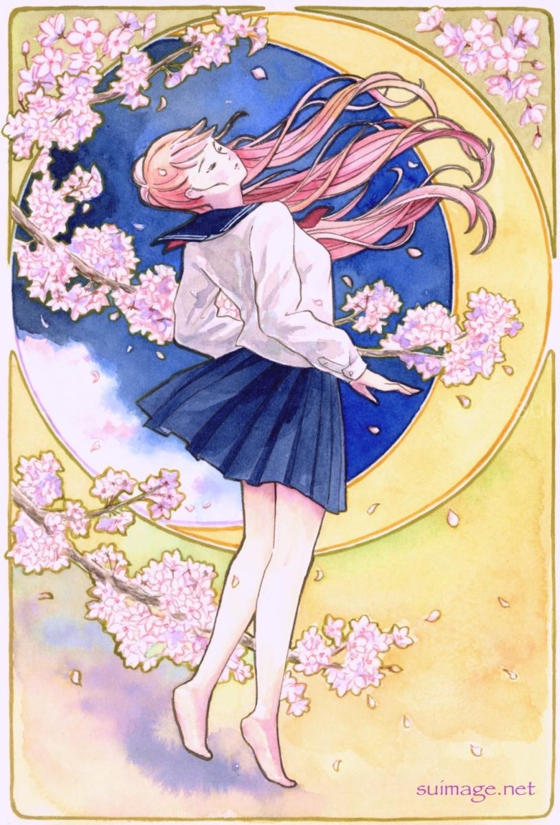 夜桜のダンス