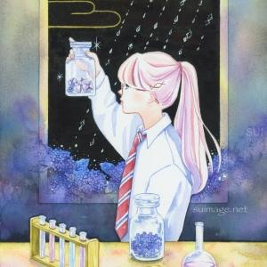 雨の日の理科室は不思議なことが起きる