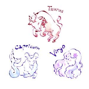 星占い,horoscope,女性誌,雑誌,おうし座,牡牛座,乙女座,おとめ座,山羊座,やぎ座,taurus,virgo,capricorn